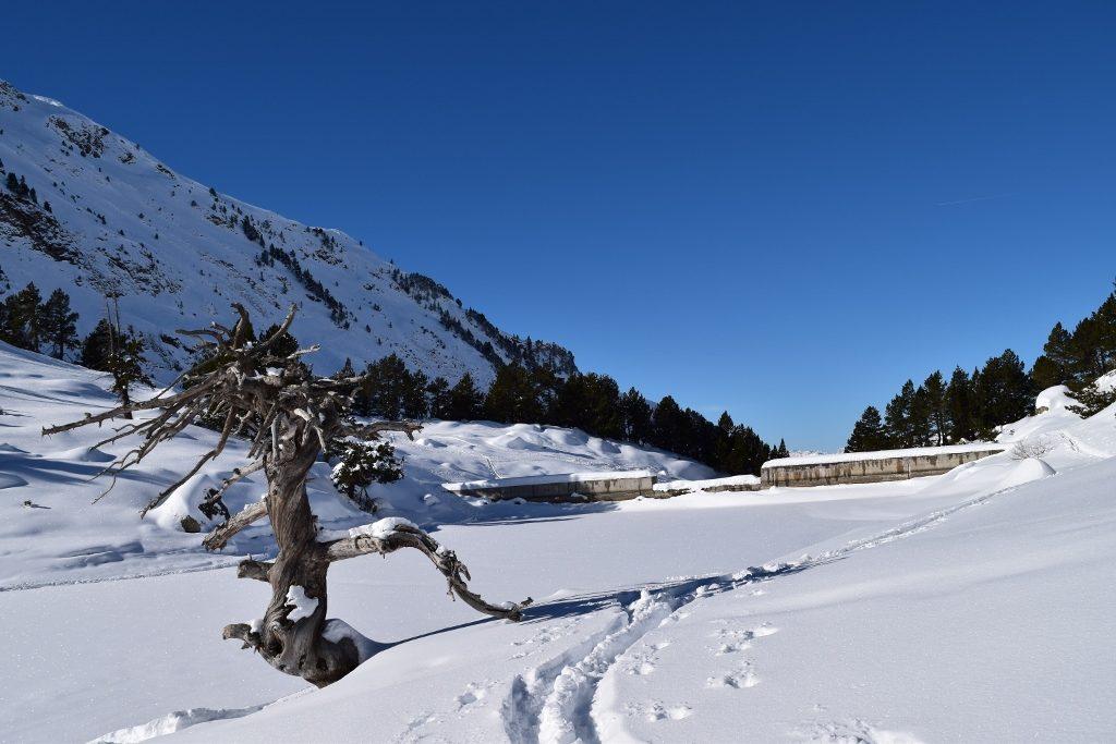 1er étang avec son barrage