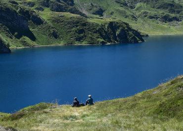 Le lac Bleu et le lac d'Ourrec en boucle