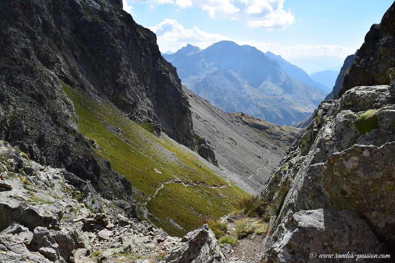 Au col des Grangettes (2684 m)