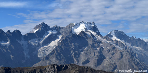 Le massif de la Meije
