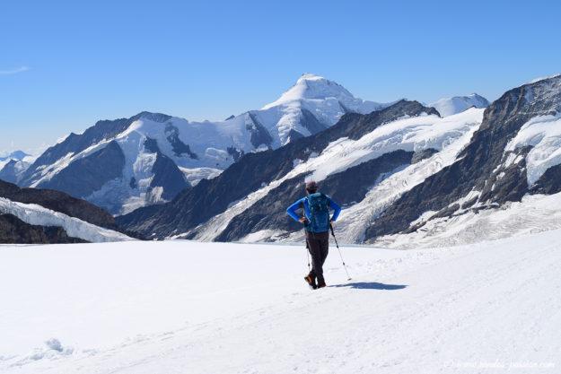 Vue sur le pic Aletschhorn