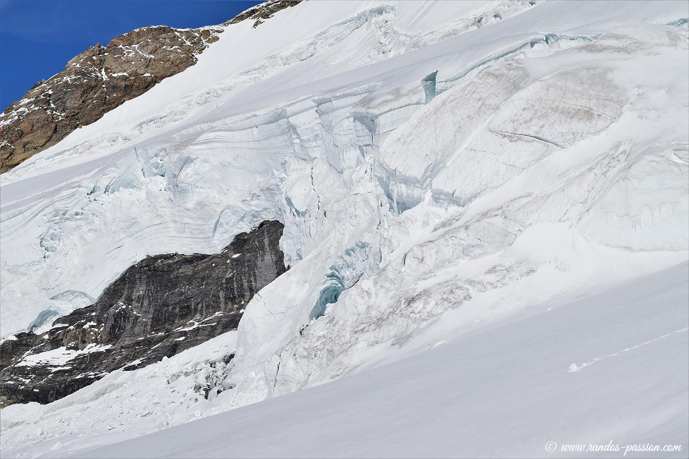 Le glacier du Mönch