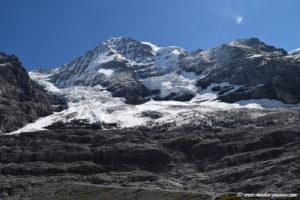 Glacier de Eigergletscher et face nord du Mönch