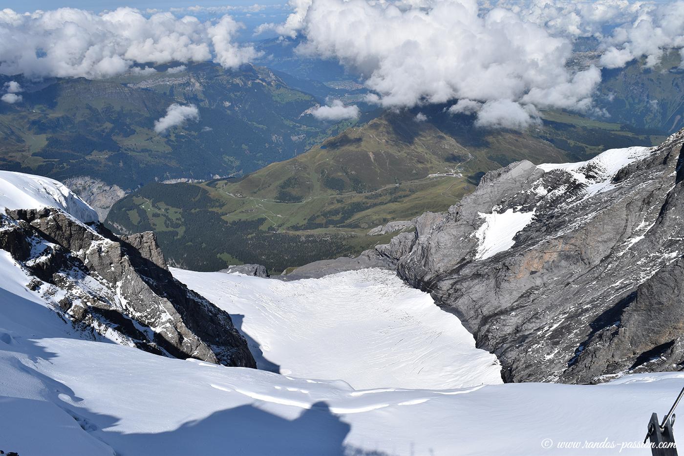 Le glacier Guggigletscher
