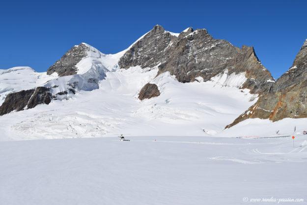 Jungfrau et Rottalhorn