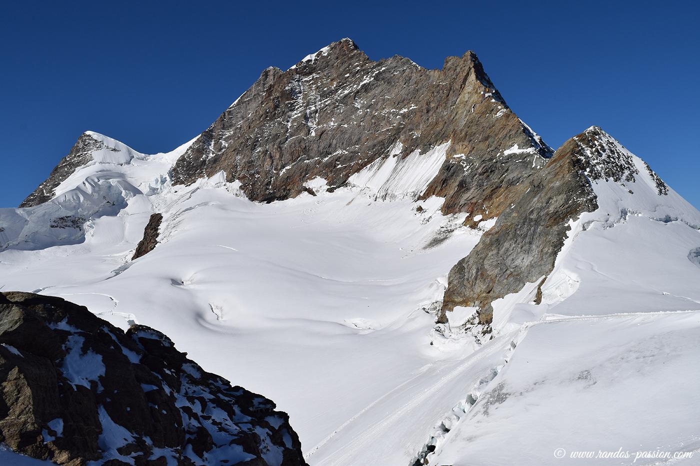 La Jungfrau et le Rottalhorn