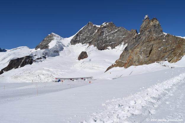 La Jungfrau, le Rottalhorn et le Sphinx