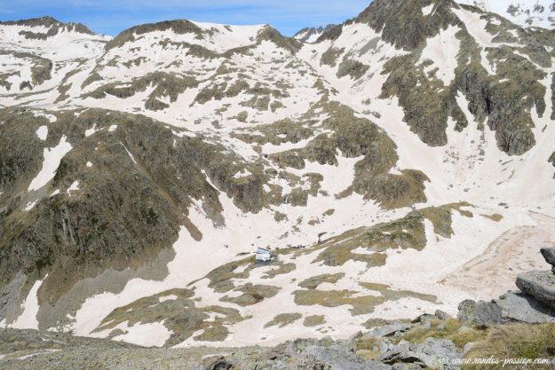 Au sommet du pic de la Solana de Llauset