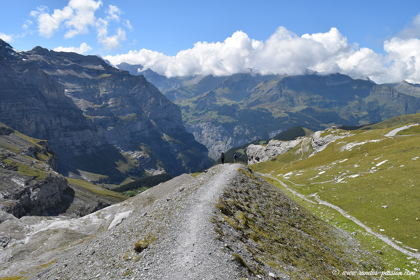 La moraine du glacier Eigergletscher