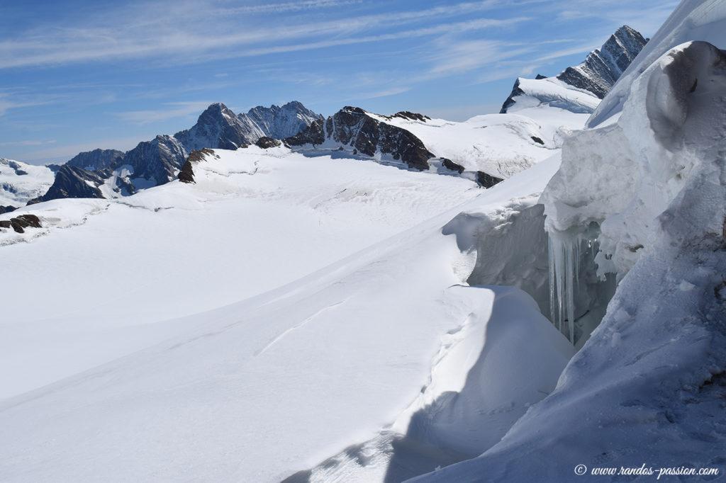 Le glacier de Emigschneefal