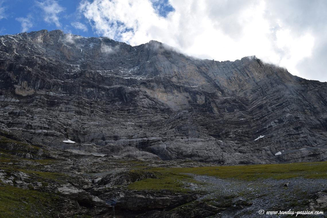 La face nord de l'Eiger