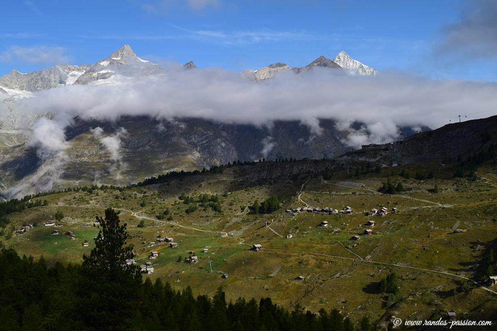 Panorama depuis Riffelalp