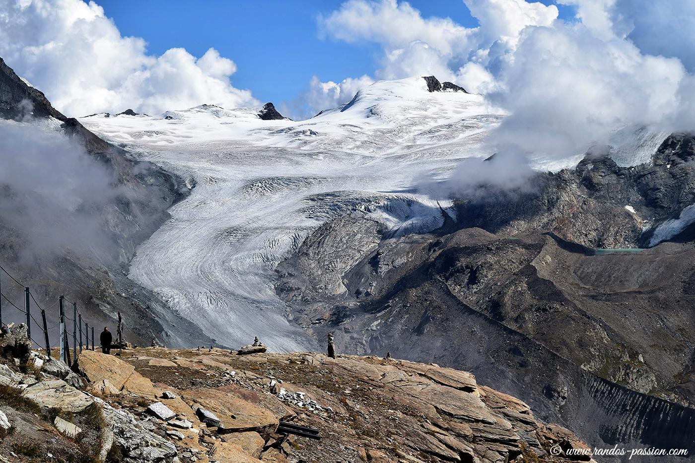 Le glacier de Findelen