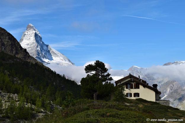 Le restaurant d'altitude de Grunsee