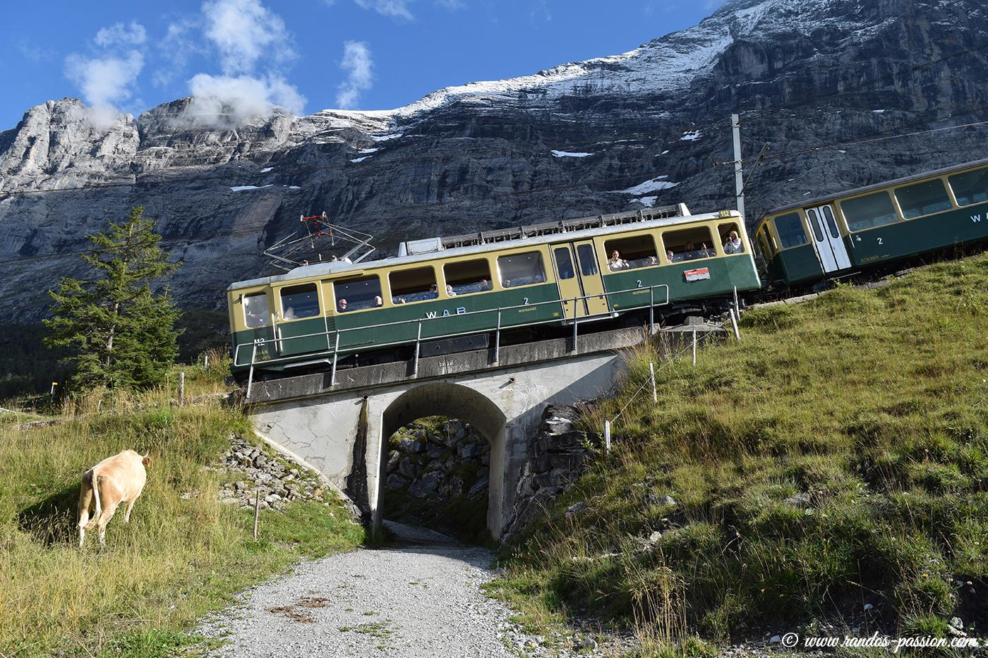 Le train de Jungfraujoch