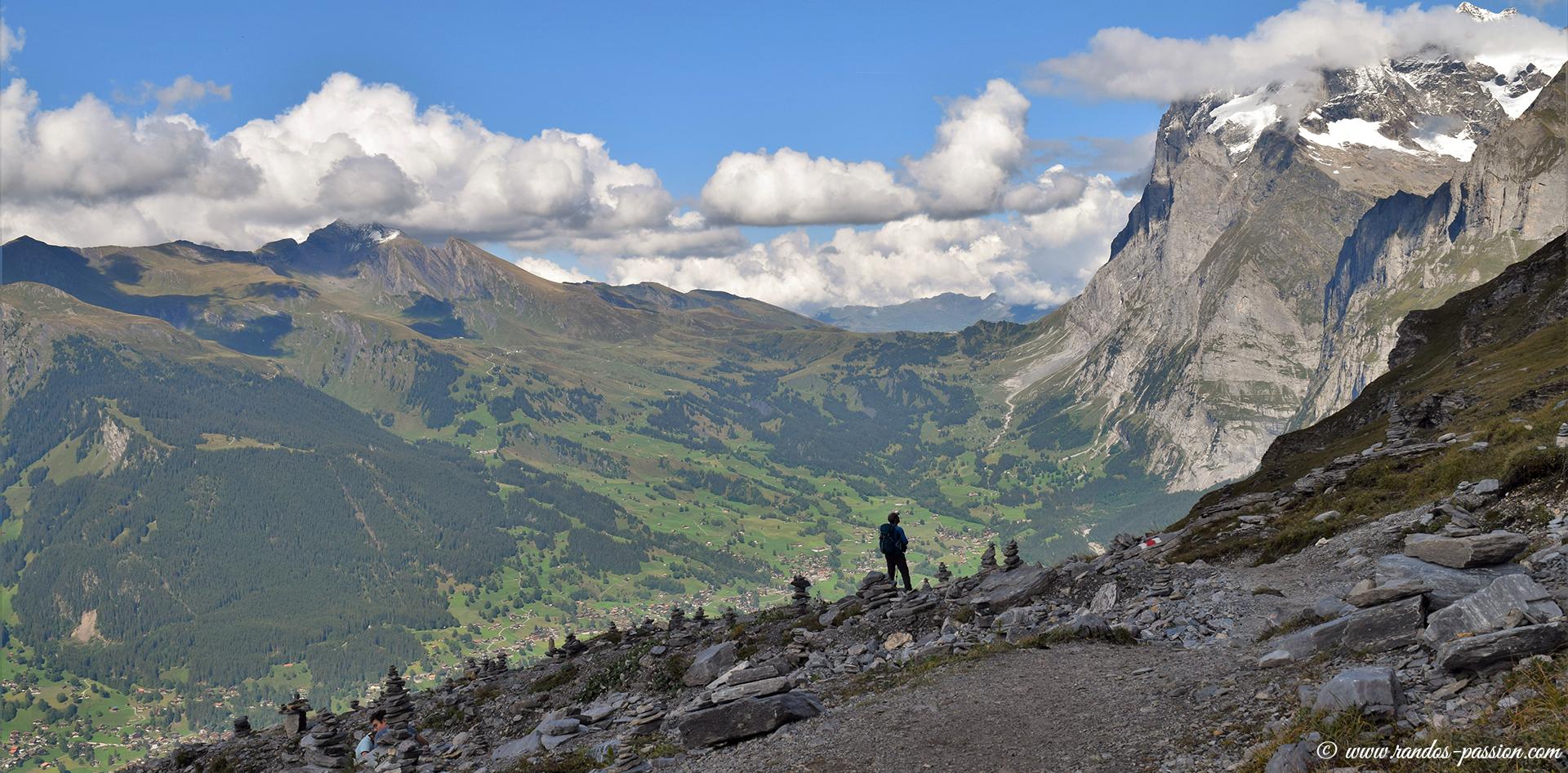 Vue sur Grindelwald