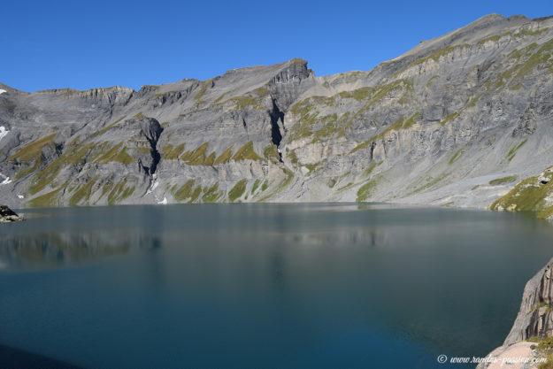 Le barrage du Vieux Émosson