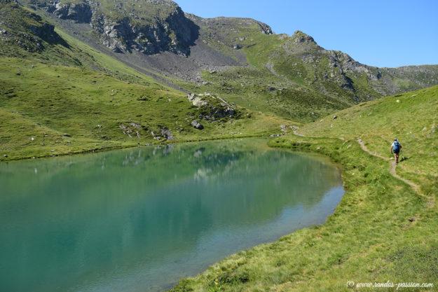Le lac de Bassia