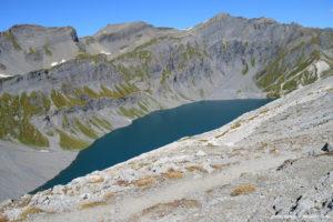 Le lac du Vieux Émosson
