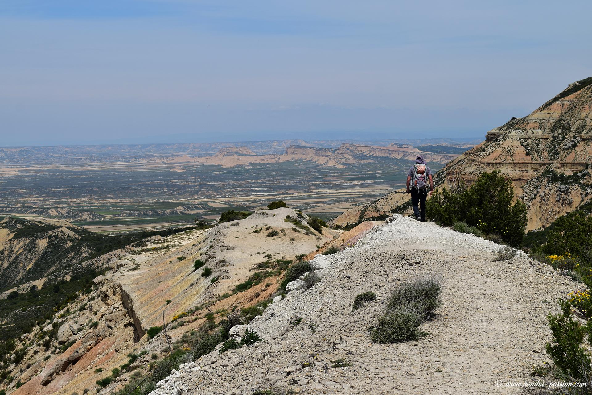 Randonnée au Tripa Azul - Bardenas
