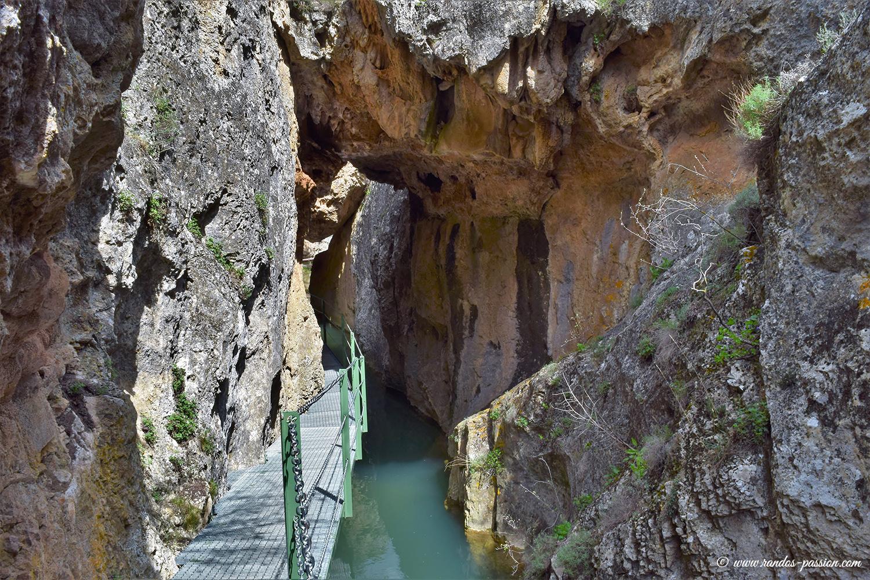 Canyon de los Arcos - Calomarde