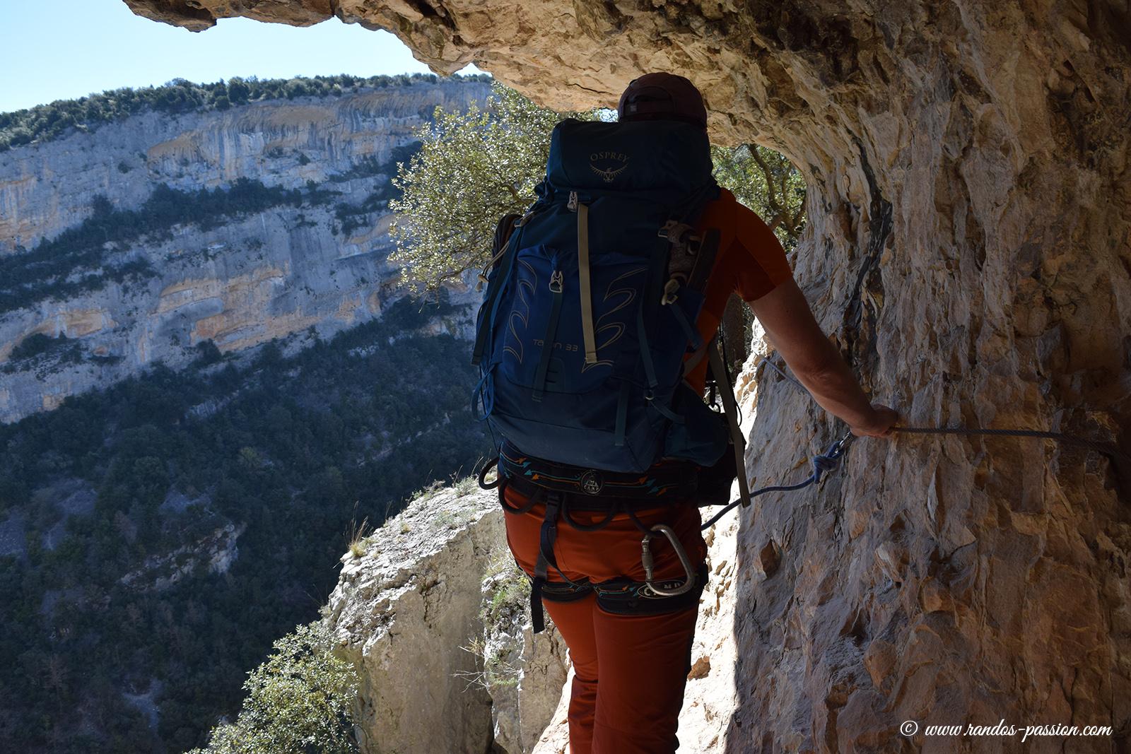 Le camino de las Escaleretas - Aragon