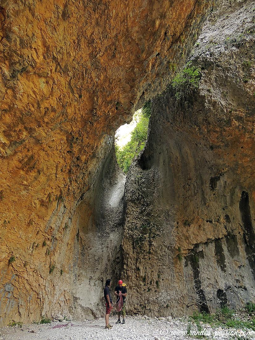Le canyon de Basender - Sierra de Guara