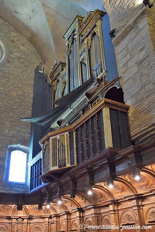 L'orgue de la Cathédrale de Roda de Isabena