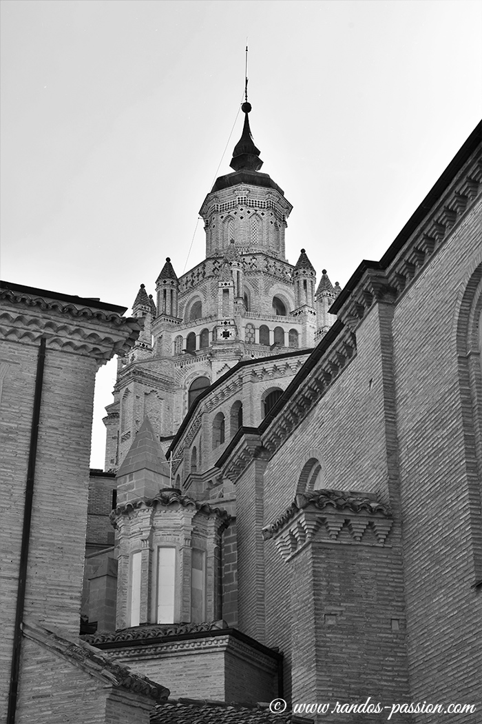 La cathédrale de Tarazona