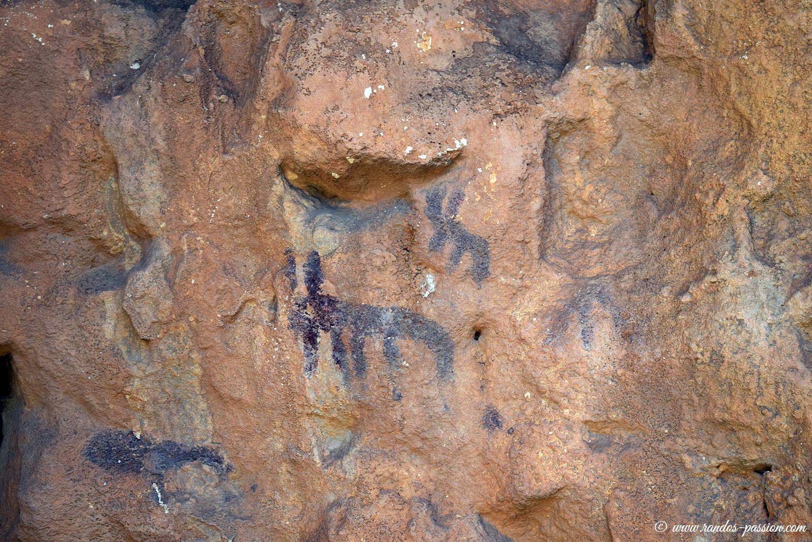 Grottes rupestres de Gallinero - Sierra de Guara
