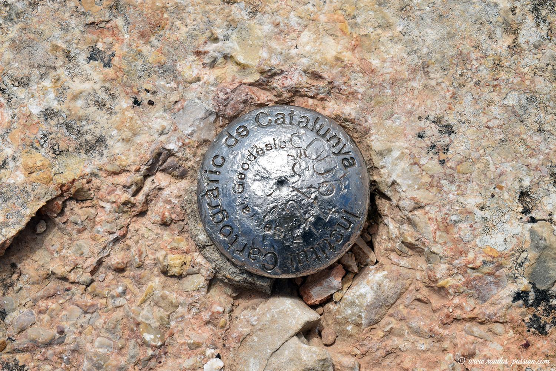 Au sommet du Castell des Roques de Benet