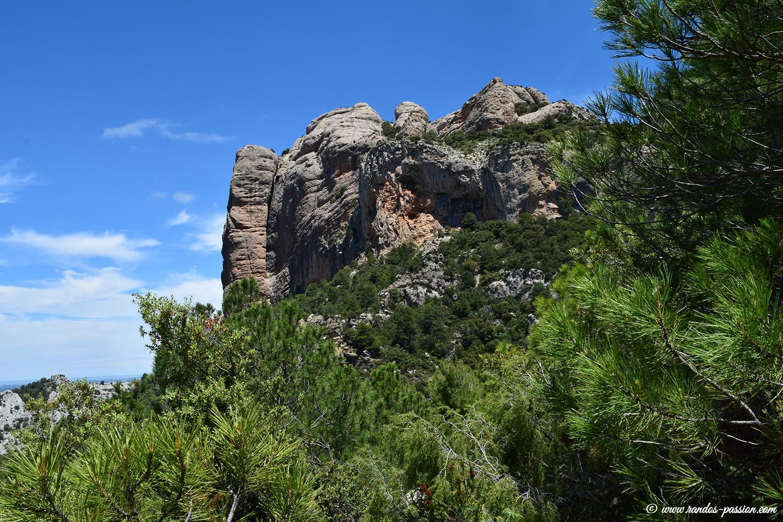 Les Roques de Benet à la descente