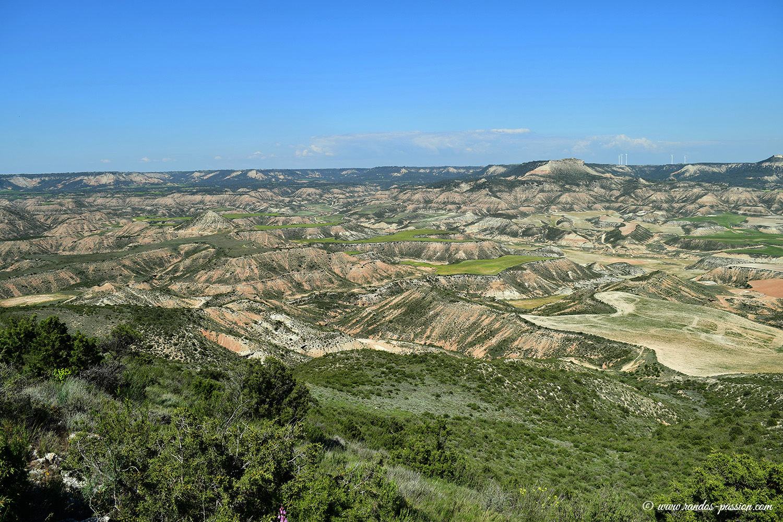 Randonnée à la Peña del Fraile - Bardenas