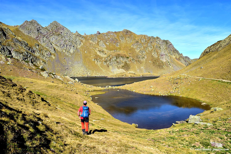 Les lacs d'Ayous en vallée d'Ossau - Le lac Bersau