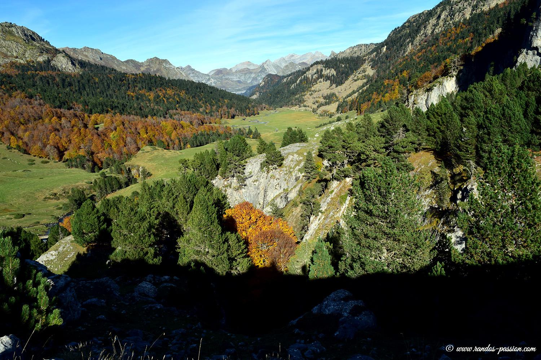 Le plateau de Bious en automne