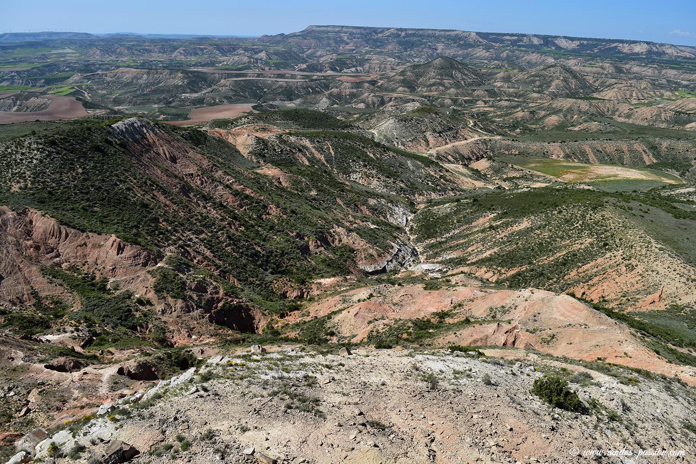 Au sommet de la Peña del Fraile - Bardenas