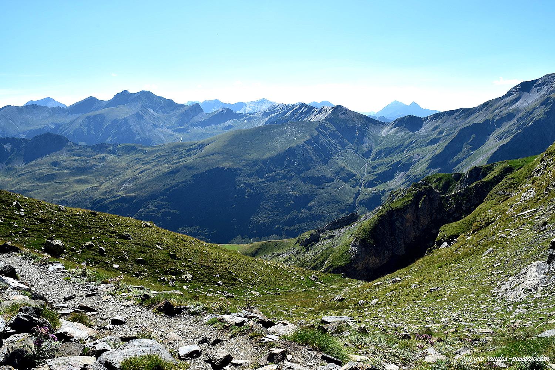 Vallée de la Gela depuis la Hourquette de Chermentas - Hautes-Pyrénées