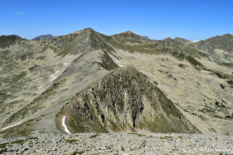 La crête du Marimanha - Val d'Aran
