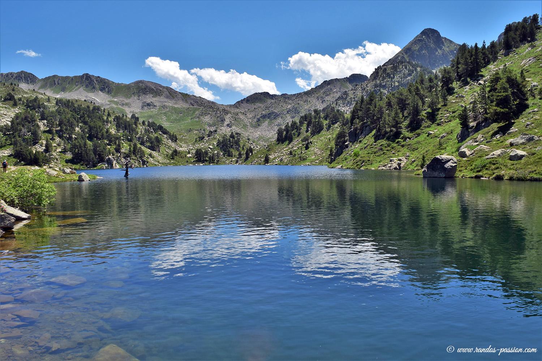 Estany de baix de Baciver - Val d'Aran