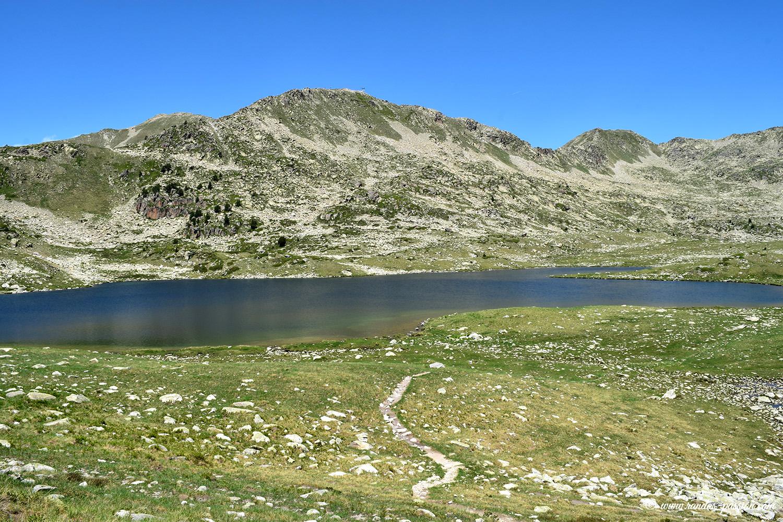 Le lac de Naut de Baciver - Val d'Aran