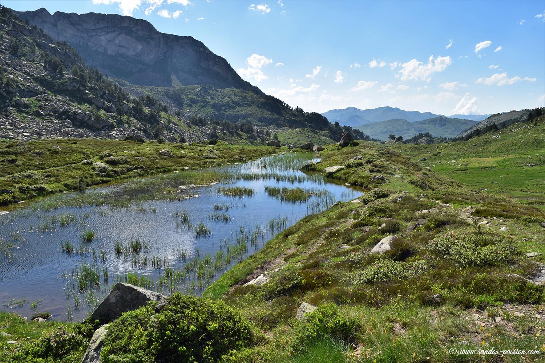 Laquette du vallon du lac deth Coret de Baciver - Catalogne