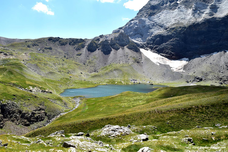 Muraille et lacs de Barroude - Hautes-Pyrénées