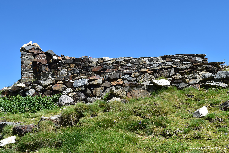 Ruines du refuge de Barroude - Hautes-Pyrénées
