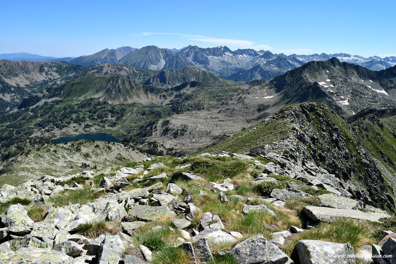 Du sommet du Tuc de Rosari, vue sur les Encantats