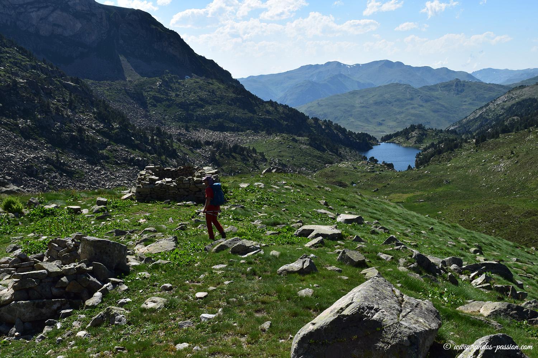 Vallon du lac deth Coret de Baciver - Catalogne