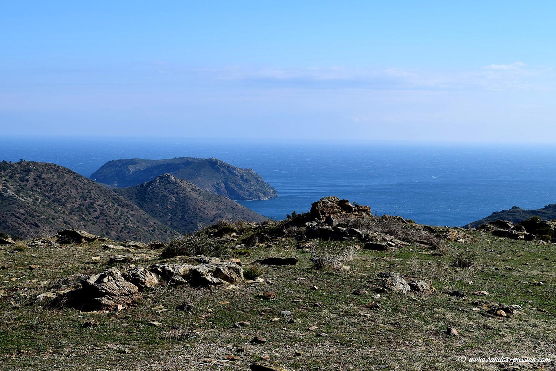 Vue sur le cap Norfeu - Catalogne