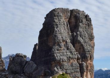 Les Cinque Torri et le refuge Nuvolau