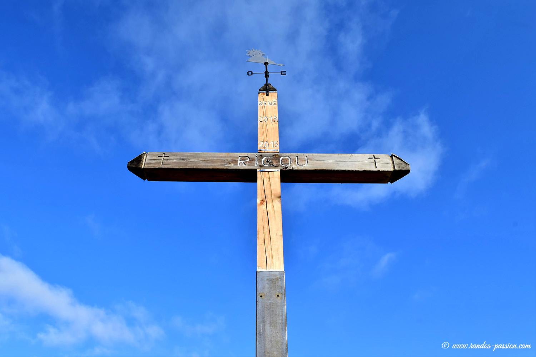 La croix de Ricou - Vallée de la Clarée