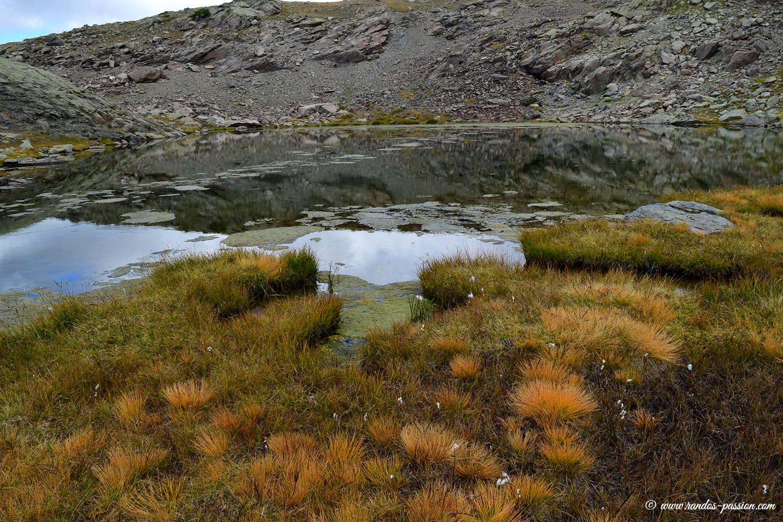 Le lac des Gardioles - Vallée de la Clarée