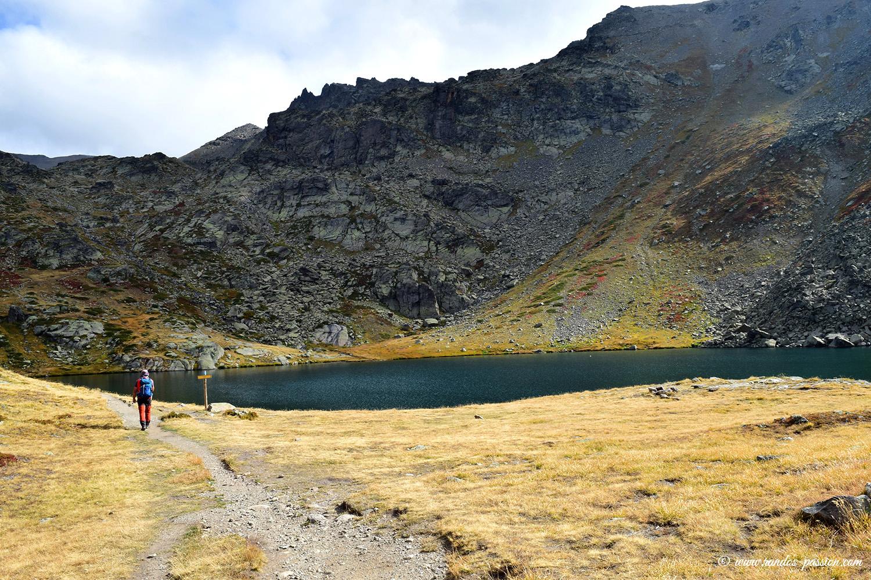 Le lac du Serpent - Vallée de la Clarée